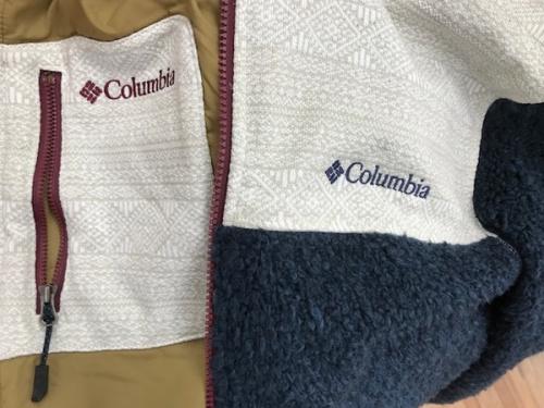 ハンブルプレイスジャケットのColumbia