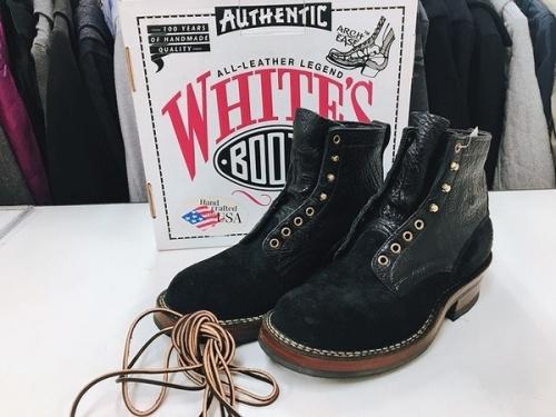 レザーブーツ 千葉 買取のWHITE'S BOOTS