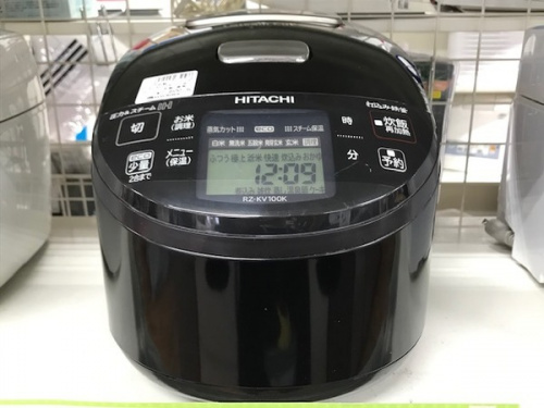 新生活の炊飯器