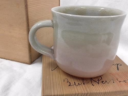 マグカップの萩焼 ベアティル・ペアソン