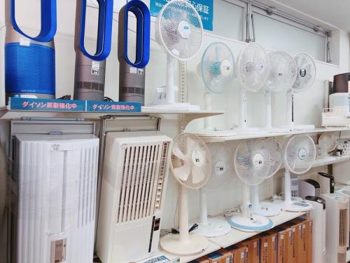 扇風機 中古のエアコン 安い