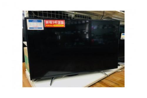 高年式 家電 中古の4K対応液晶テレビ