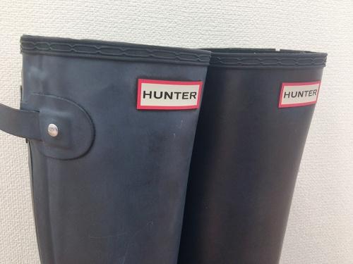 レインブーツ 買取のHUNTER ハンター