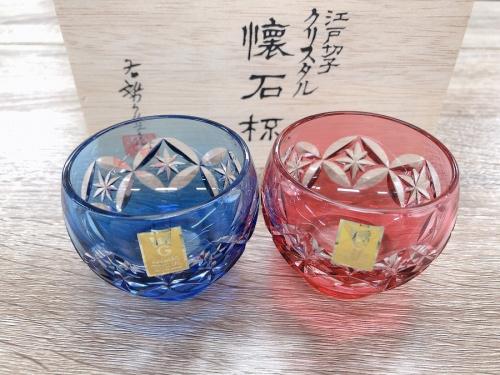 切子グラス のKAGAMI CRYSTAL カガミクリスタル