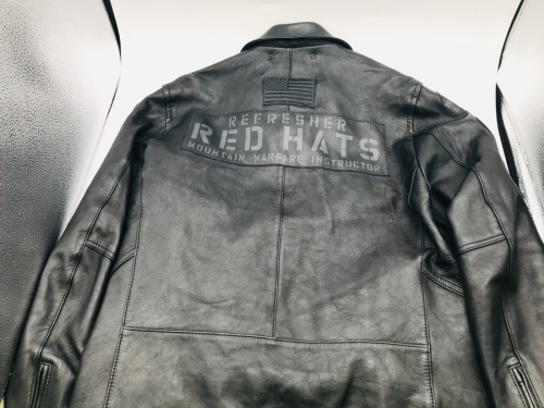 AVIREXのPATCHED RIDERS JACKET
