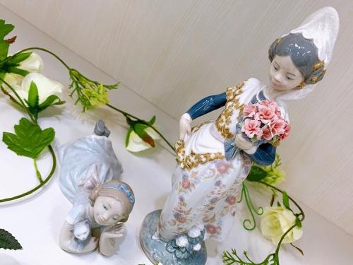 千葉 市川 船橋 江戸川 墨田 葛飾 幕張 食器 中古 買取のLLADRO リヤドロ 陶器人形