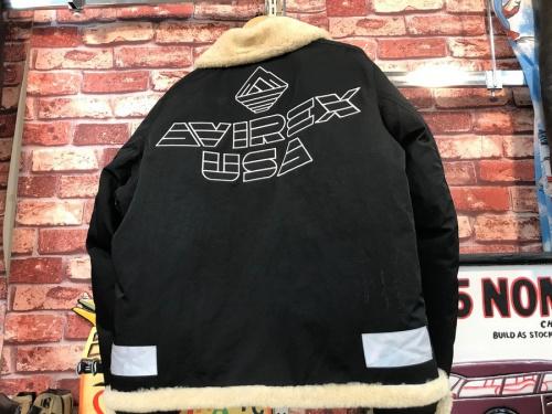 AVIREXのダウンジャケット