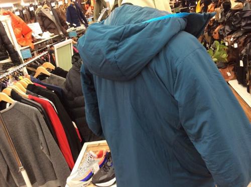 ジャケットのアークテリクス