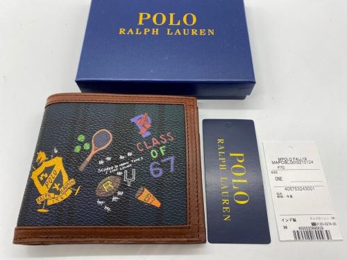 レザー 財布 未使用のPOLO RALPH LAUREN