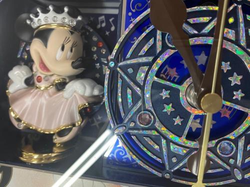 ミッキー ミニー 電波時計の千葉船橋中古小物情報