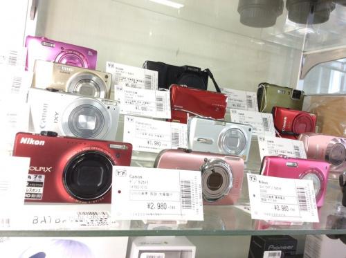 ミラーレスカメラのコンパクトカメラ