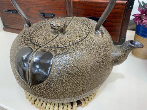 三厳堂 柚子の南部鉄器 鉄瓶