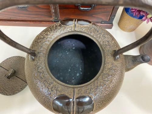 南部鉄器 鉄瓶の南部鉄器 中古
