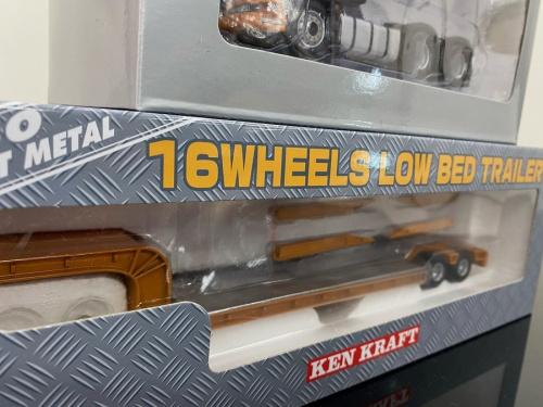 16輪中低重量物運搬用トレーラーの内宮運輸機工 ミニカー 中古
