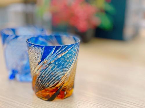 千葉 市川 船橋 江戸川 墨田 葛飾 幕張 中古 小物 買取の江戸切子 グラス
