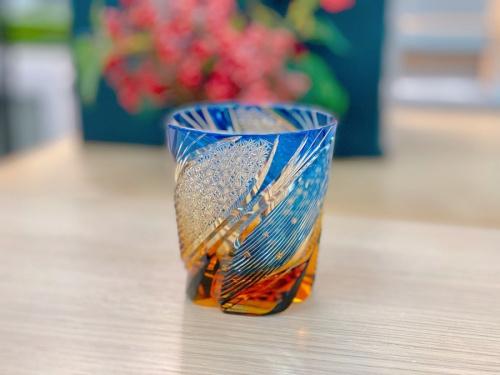 江戸切子 グラスの大場和十志 清流