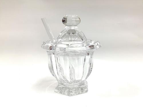 バカラ ミズーリのガラス マスタードポット
