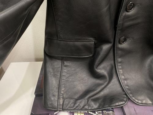 レザーテーラードジャケットの千葉船橋中古洋服情報