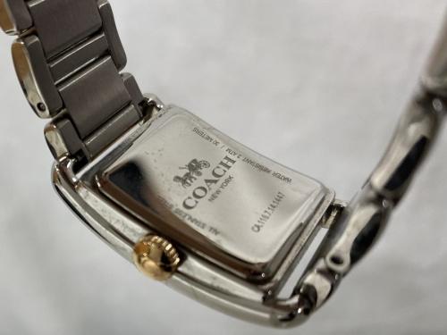腕時計 中古 クォーツのCOACH コーチ