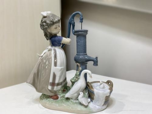雑貨 陶器人形のLLADRO リヤドロ