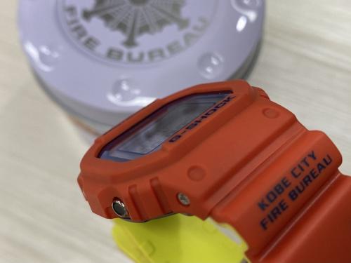 腕時計 買取 千葉のG‐SHOCK ジーショック 神戸市消防局