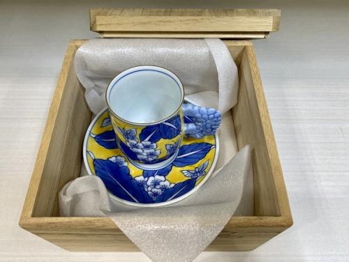 有田焼 崋山萬右衛門窯のカップ&ソーサー