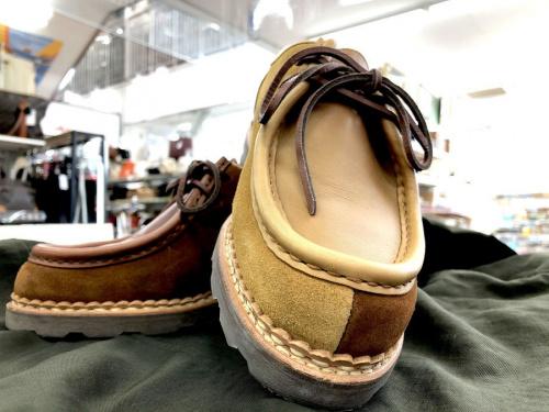 レザーシューズ 革靴のPARABOOT パラブーツ