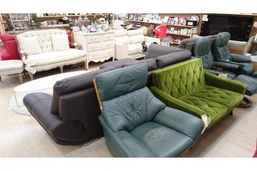 三人掛けソファーの中古家具