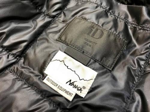ジャケットのNANGA