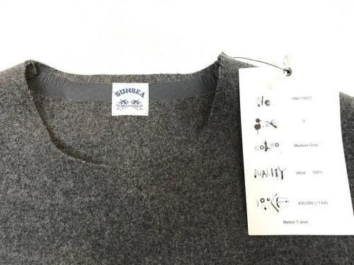 Tシャツのサンシー(SUNSEA)