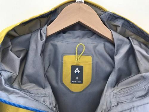 ジャケットのmont-bell