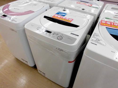 家事家電の洗濯機