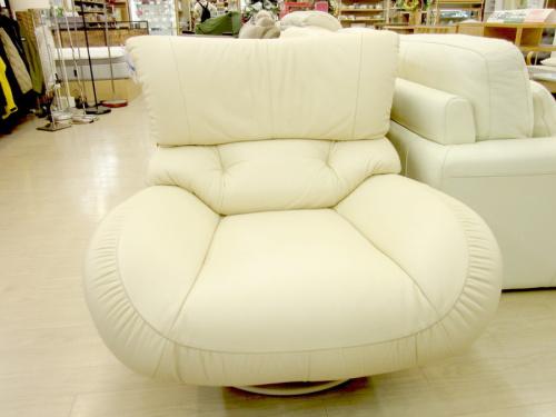 ソファーの1人掛け回転ソファー