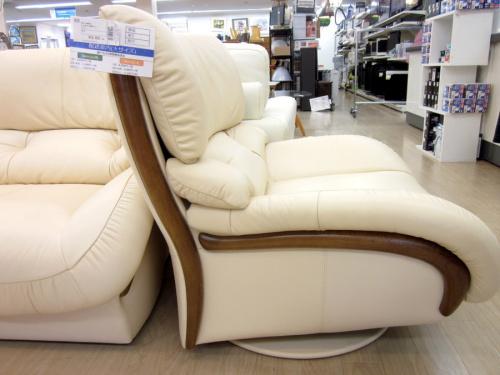 1人掛け回転ソファーのkarimoku