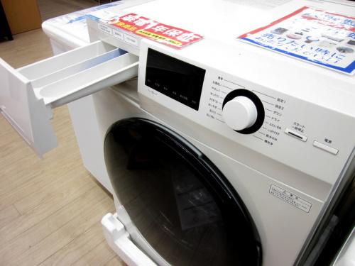 ドラム式洗濯乾燥機の無印良品