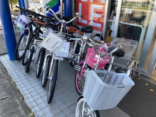 中古自転車の自転車 名古屋