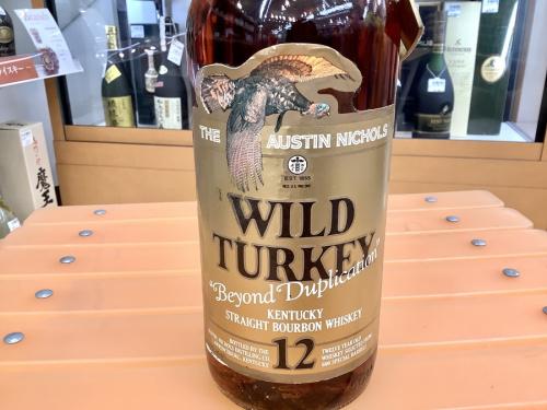 スコッチのWILD TURKEY