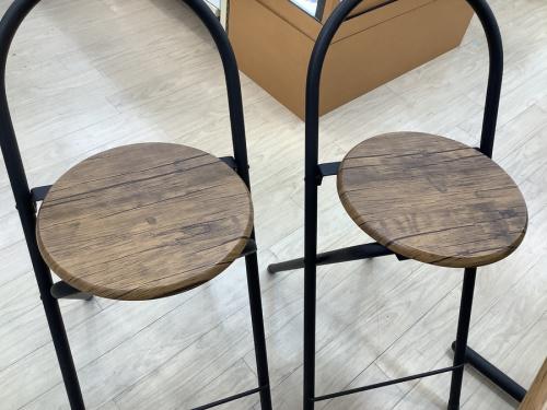 テーブルのカウンターテーブル3点セット