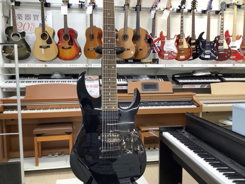 イベントなうのエレキギター