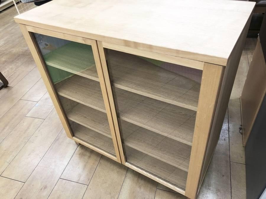 無印家具のチェスト、シェルフと、 高さを揃え、横一列で使いやすいサイズ感。 既に他のアイテムを、お持ちの方もいかがでしょうか?