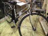 アウトドアの電動自転車
