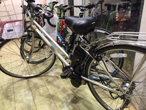 電動自転車のPanasonic