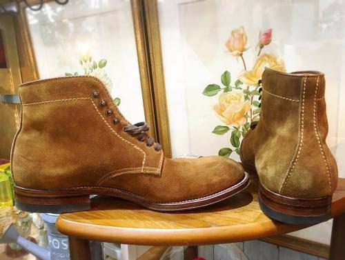 ブーツのALDEN(オールデン)