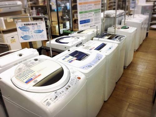 洗濯機の電子レンジ