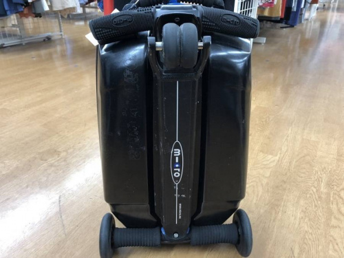 micro luggageのキャリーバッグ