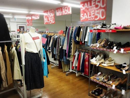 夏物 衣類 セールの武蔵野市 花小金井 国分寺 杉並 夏物 衣類 メンズ レディース