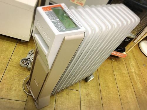 生活家電のオイルヒーター