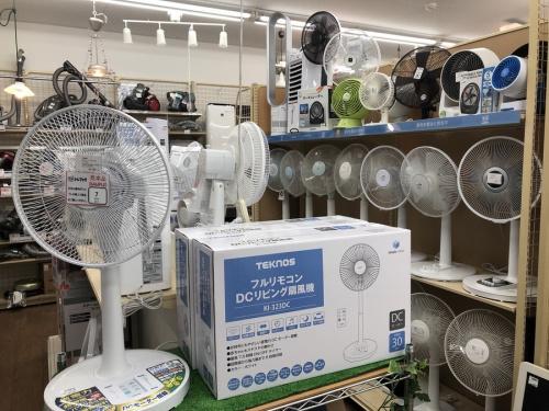エアコンの武蔵野市 小金井市 国分寺市 杉並区 中古 夏物家電 エアコン 扇風機 サーキュレーター 除湿機 買取 販売