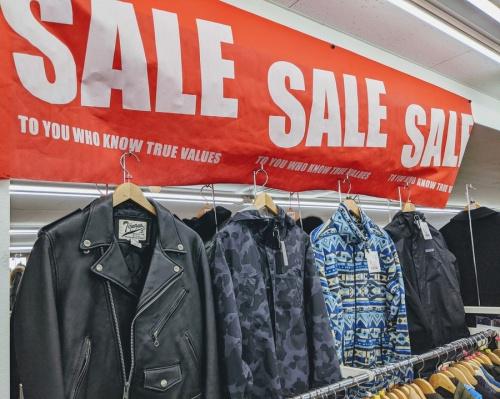 メンズファッションの冬物 衣類 セール