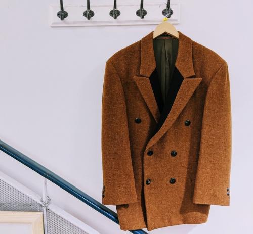 YOHJIYAMAMOTOのツィードジャケット